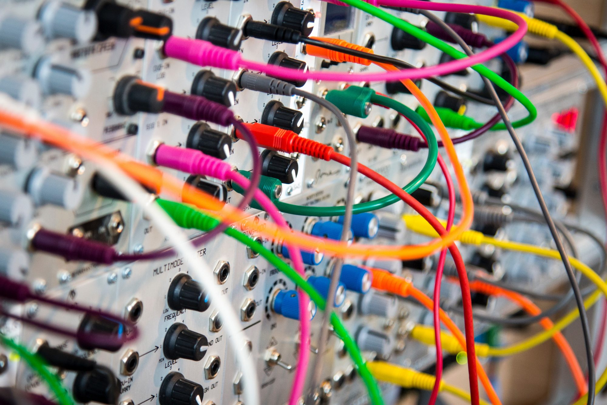 Complex board with wires